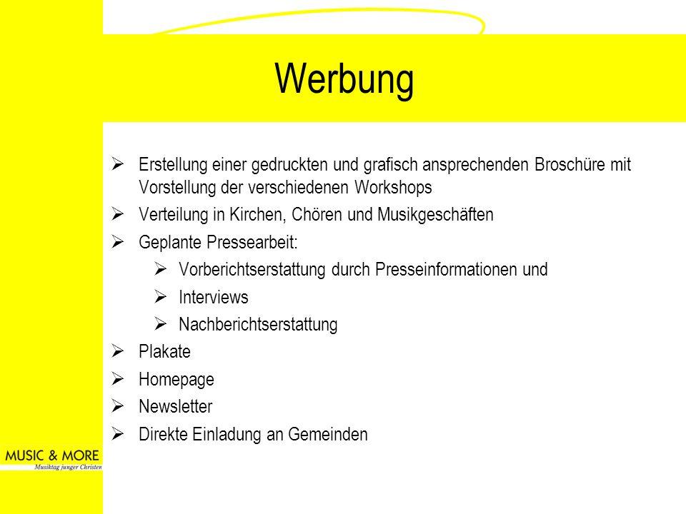 Möglichkeiten des Sponsorings Beispiel-Paket 1 Logopräsenz in Einladungsflyer (Zusage und Lieferung Logo bis spätestens 24.
