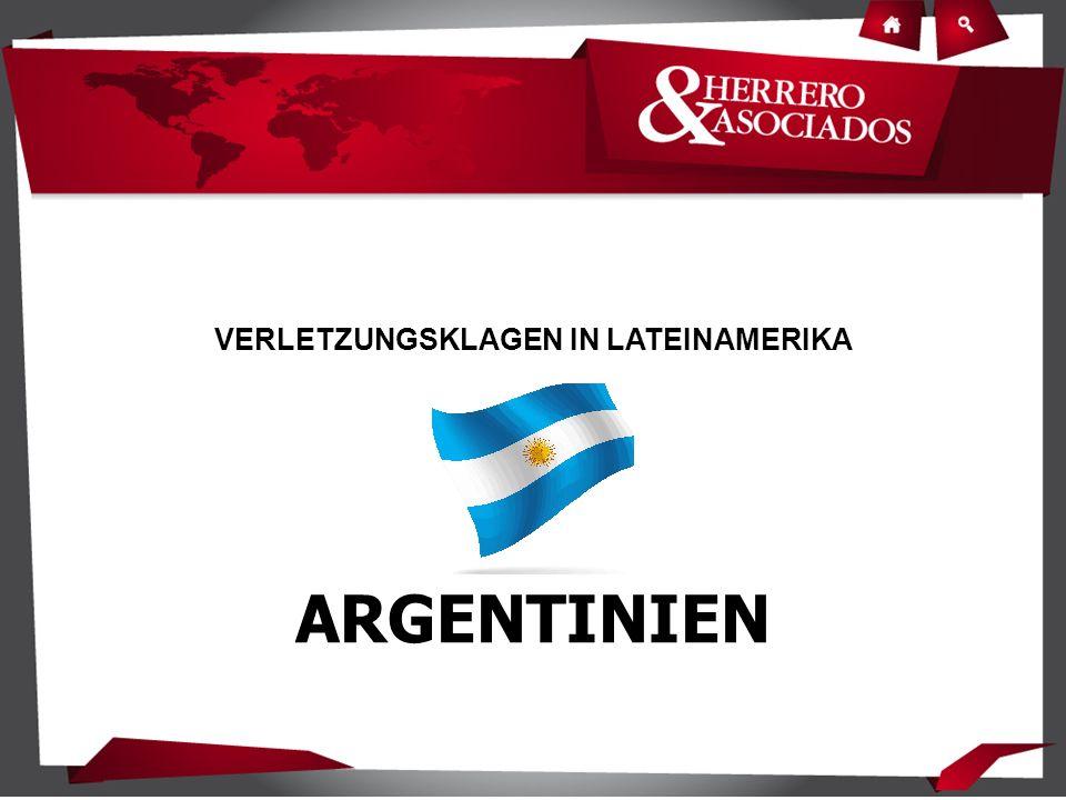 VERLETZUNGSKLAGEN IN LATEINAMERIKA ARGENTINIEN