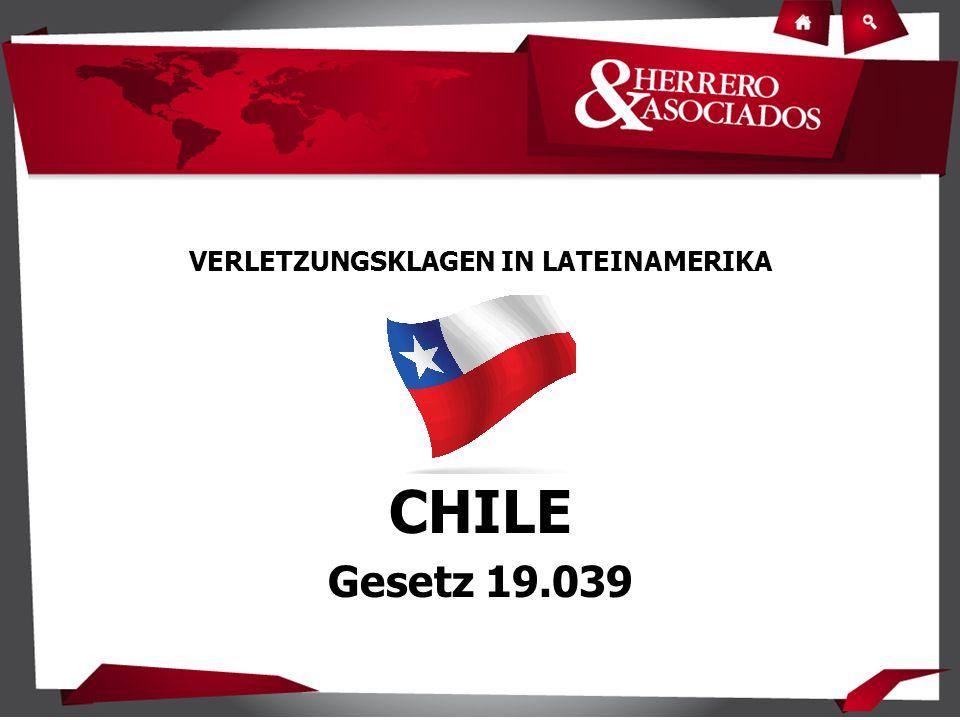 VERLETZUNGSKLAGEN IN LATEINAMERIKA CHILE Gesetz 19.039