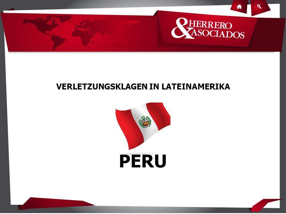 VERLETZUNGSKLAGEN IN LATEINAMERIKA PERU