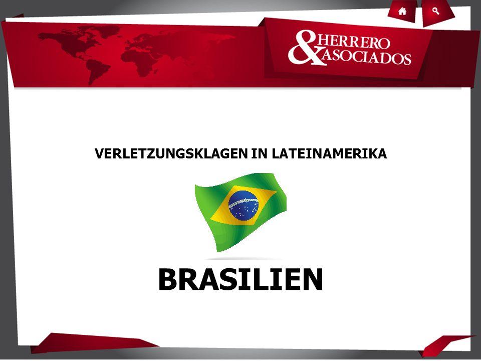 VERLETZUNGSKLAGEN IN LATEINAMERIKA BRASILIEN