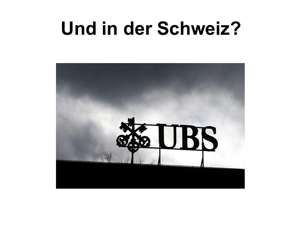 Und in der Schweiz?