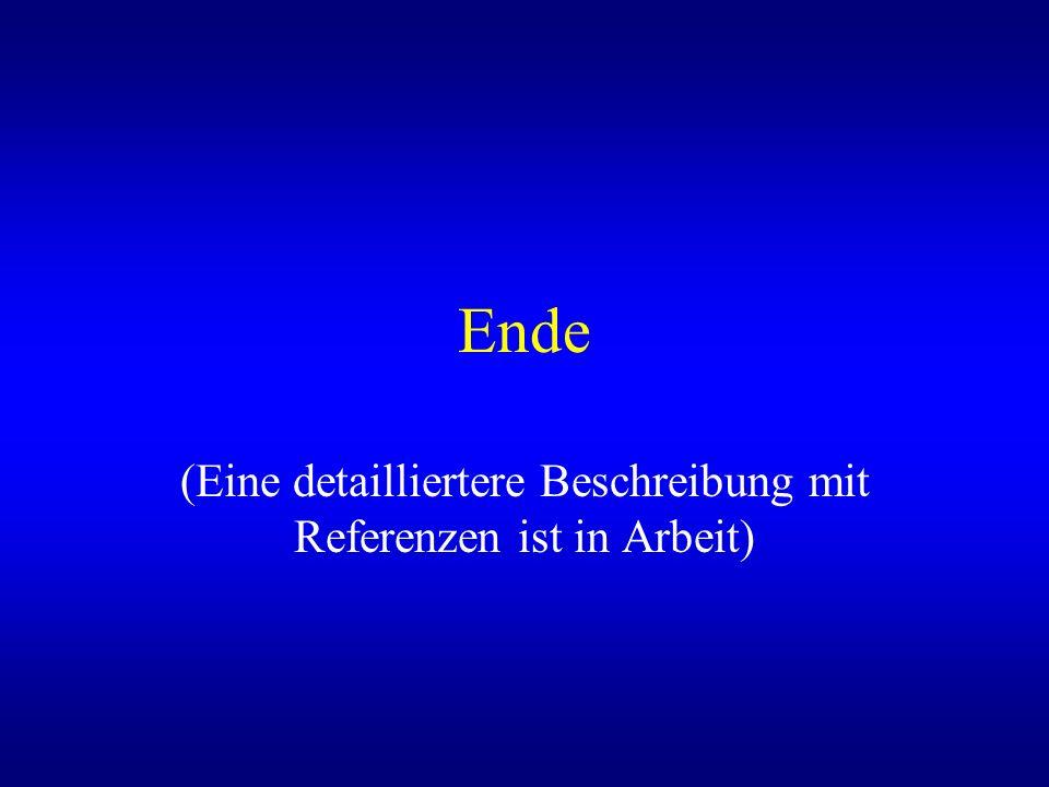Ende (Eine detailliertere Beschreibung mit Referenzen ist in Arbeit)