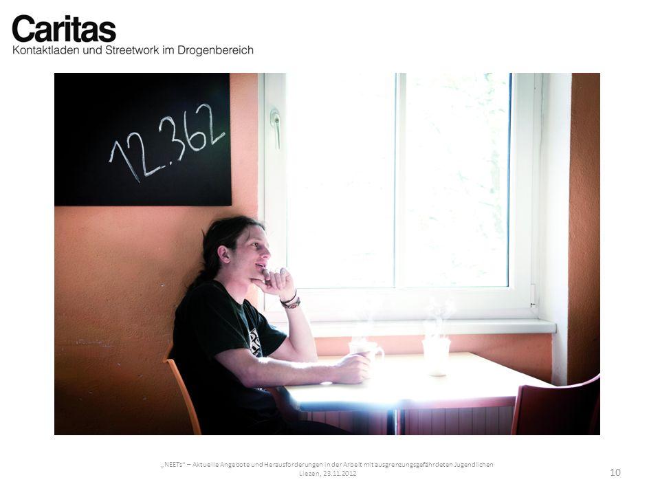 NEETs – Aktuelle Angebote und Herausforderungen in der Arbeit mit ausgrenzungsgefährdeten Jugendlichen Liezen, 23.11.2012 10