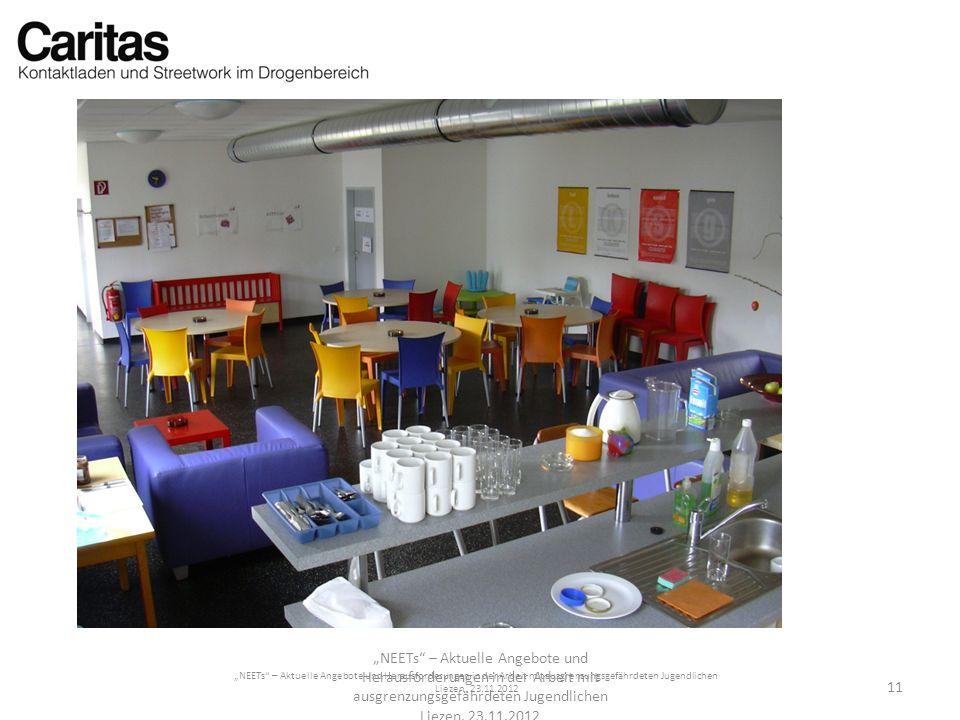 NEETs – Aktuelle Angebote und Herausforderungen in der Arbeit mit ausgrenzungsgefährdeten Jugendlichen Liezen, 23.11.2012 NEETs – Aktuelle Angebote un