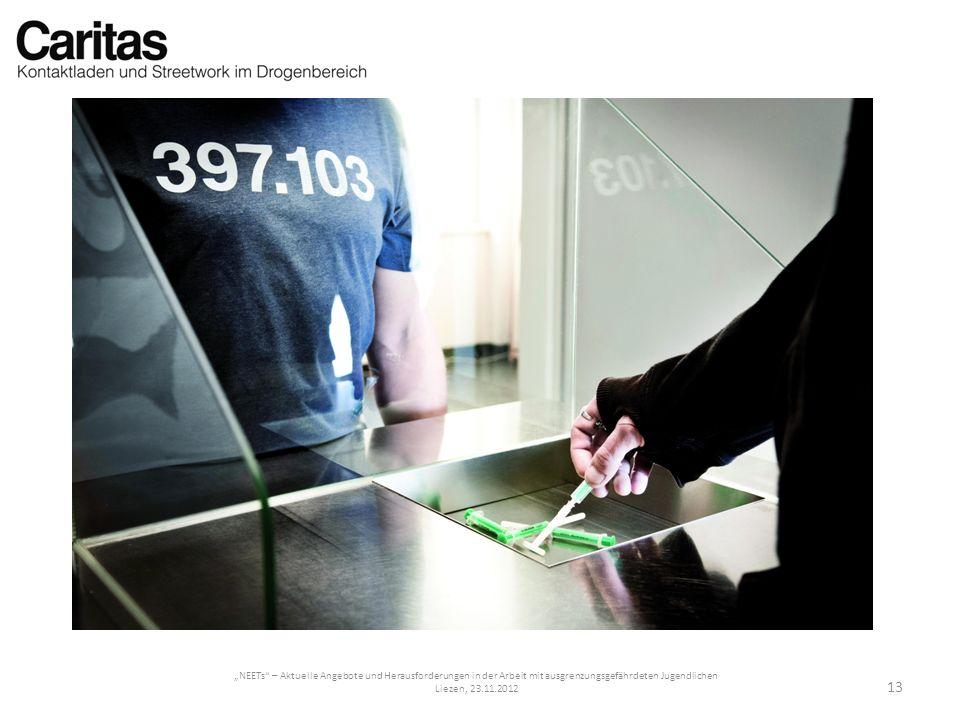 NEETs – Aktuelle Angebote und Herausforderungen in der Arbeit mit ausgrenzungsgefährdeten Jugendlichen Liezen, 23.11.2012 13