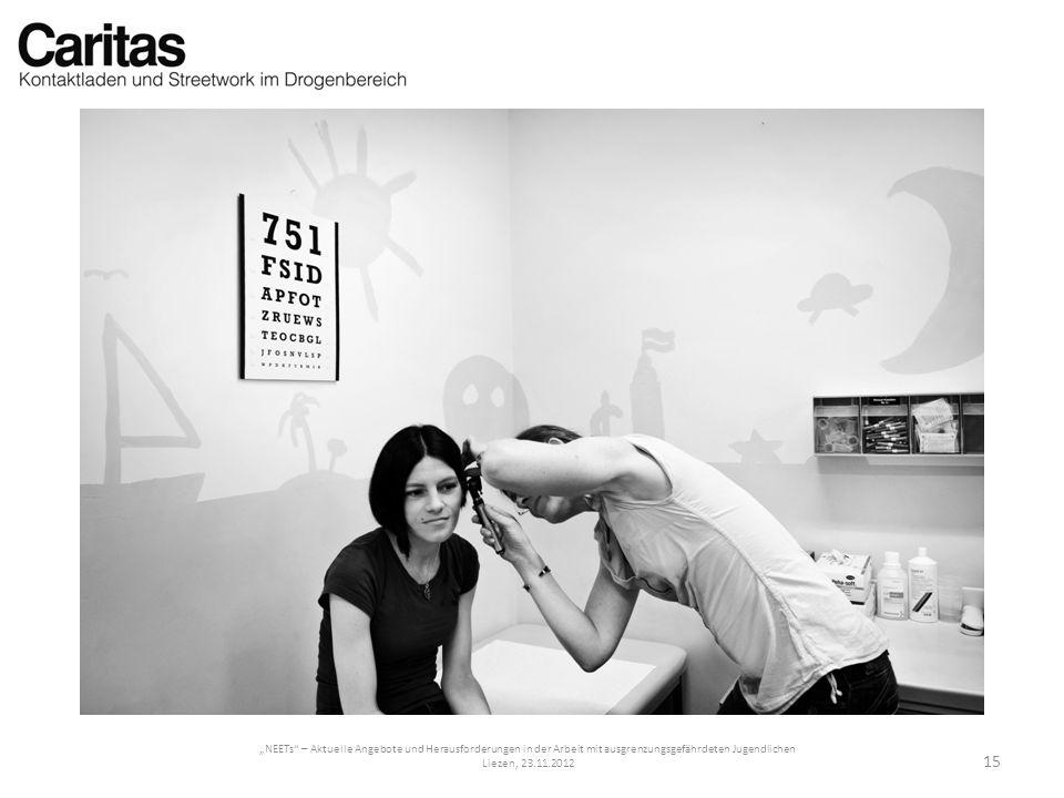 NEETs – Aktuelle Angebote und Herausforderungen in der Arbeit mit ausgrenzungsgefährdeten Jugendlichen Liezen, 23.11.2012 15
