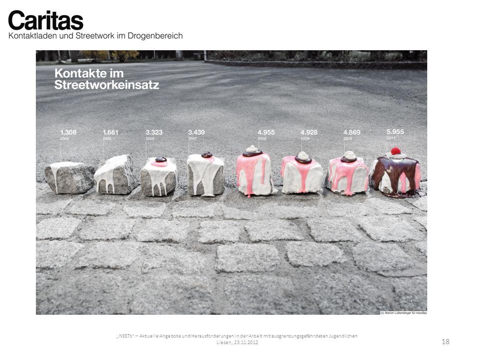 NEETs – Aktuelle Angebote und Herausforderungen in der Arbeit mit ausgrenzungsgefährdeten Jugendlichen Liezen, 23.11.2012 18