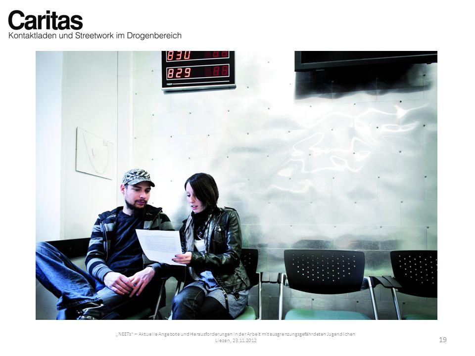 NEETs – Aktuelle Angebote und Herausforderungen in der Arbeit mit ausgrenzungsgefährdeten Jugendlichen Liezen, 23.11.2012 19