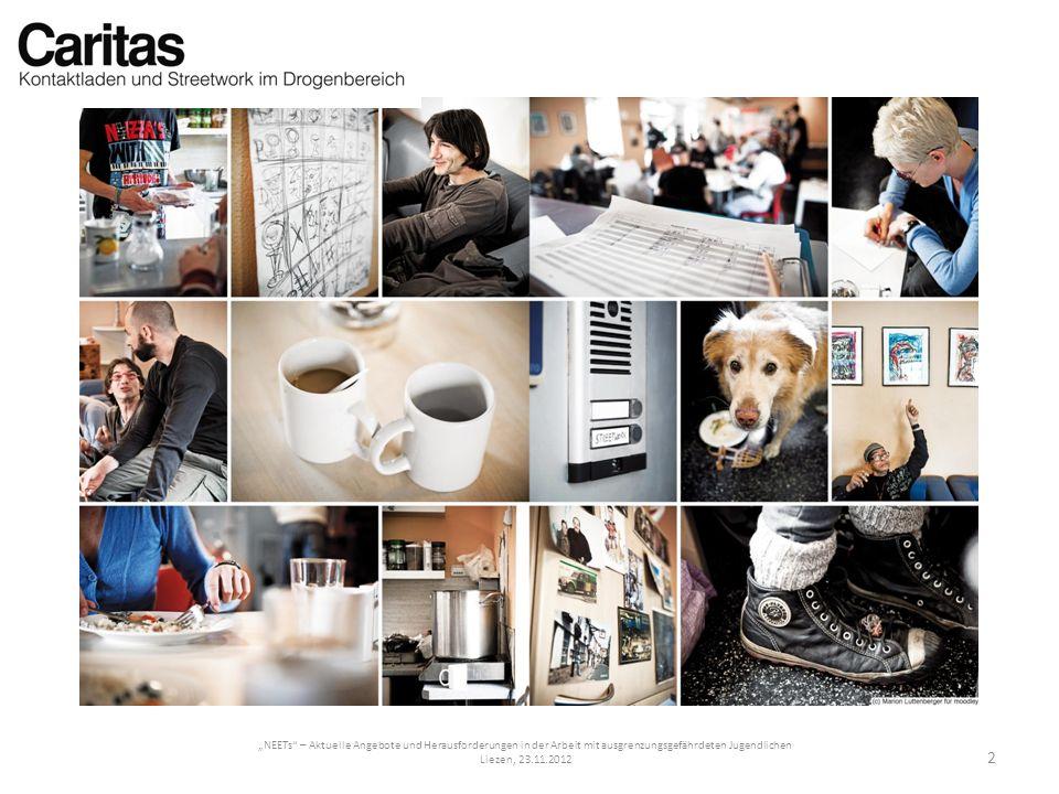 NEETs – Aktuelle Angebote und Herausforderungen in der Arbeit mit ausgrenzungsgefährdeten Jugendlichen Liezen, 23.11.2012 2
