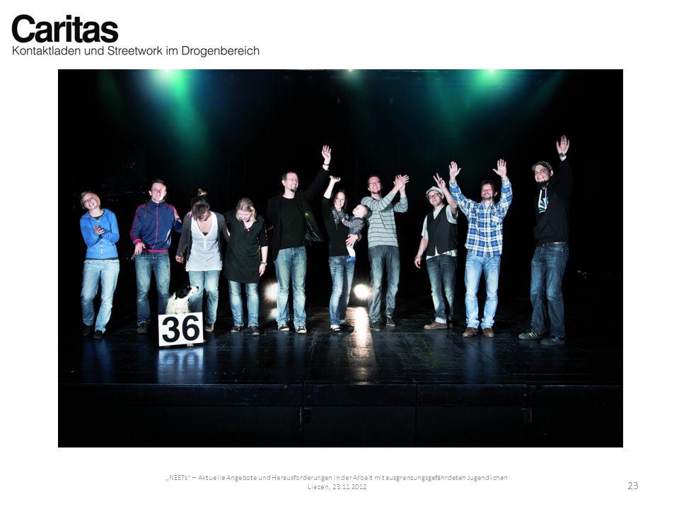 NEETs – Aktuelle Angebote und Herausforderungen in der Arbeit mit ausgrenzungsgefährdeten Jugendlichen Liezen, 23.11.2012 23