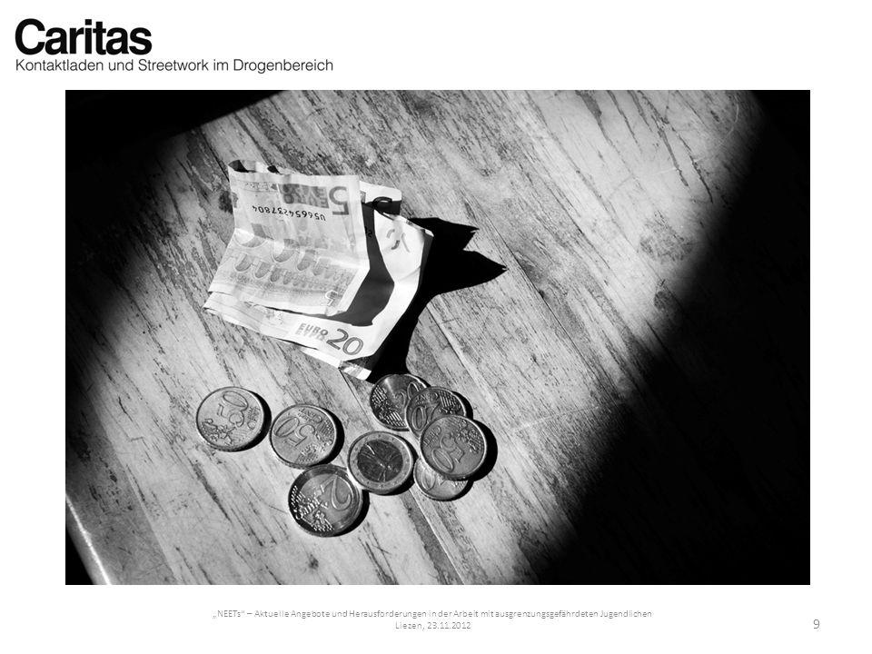 NEETs – Aktuelle Angebote und Herausforderungen in der Arbeit mit ausgrenzungsgefährdeten Jugendlichen Liezen, 23.11.2012 20