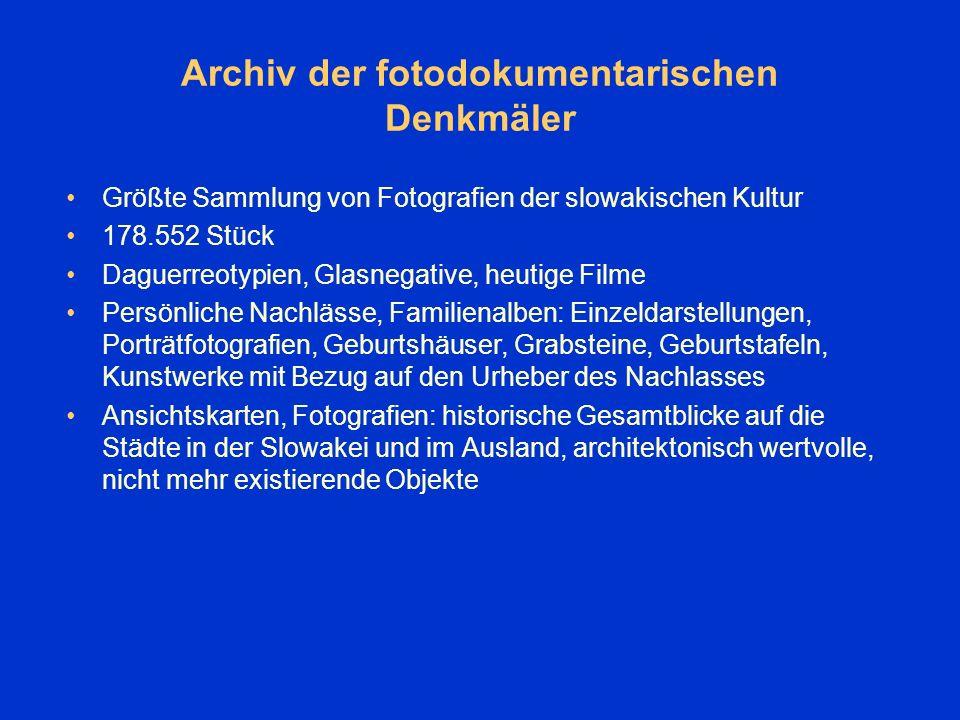 Benutzung Bestände für wissenschaftliche, literarische, publizistische Arbeiten und Studien Lesesaal des Literatur- und Kunstarchivs Lesesaal der Mikrofilme