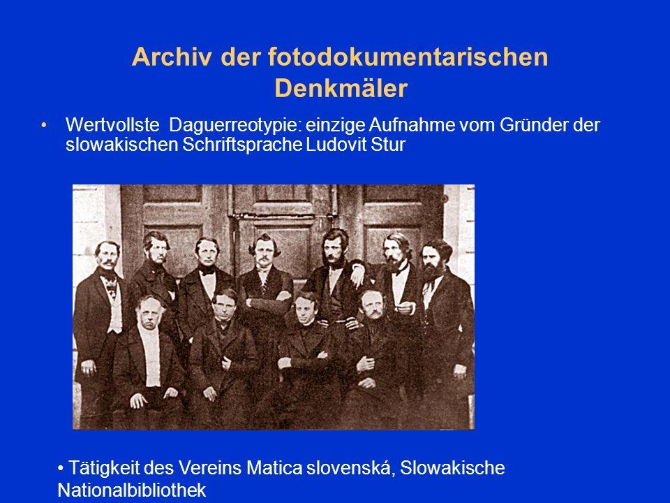 Konservierung, Restaurierung der beschädigten Dokumente Konservierung- und Restaurierungsabteilung der Slowakischen Nationalbibliothek arbeitet auch für das Literatur- und Kunstarchiv Beständereinigung