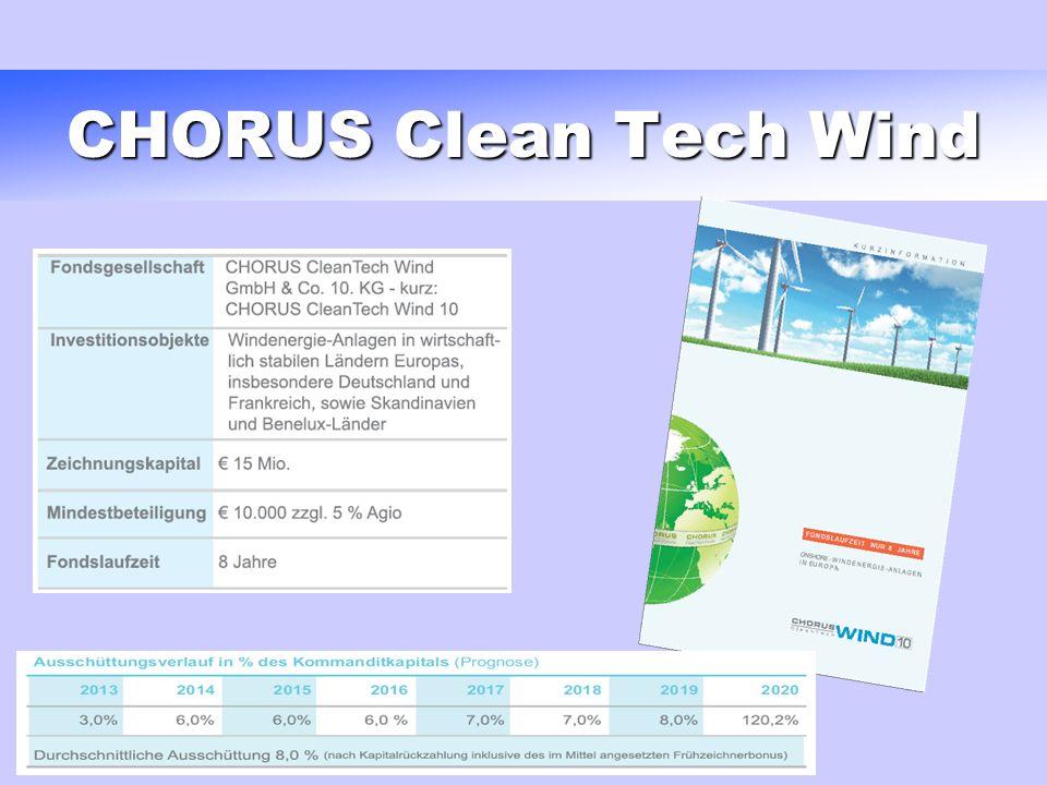 CHORUS Clean Tech Wind