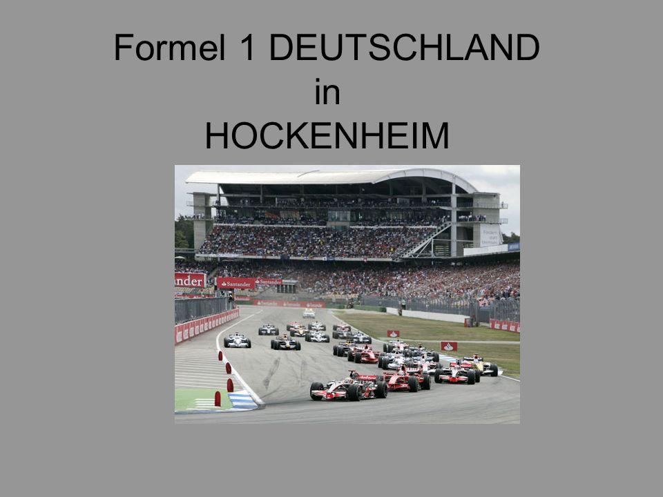 Formel 1 DEUTSCHLAND in HOCKENHEIM