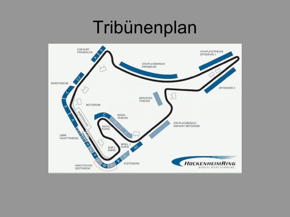 Tribünenplan