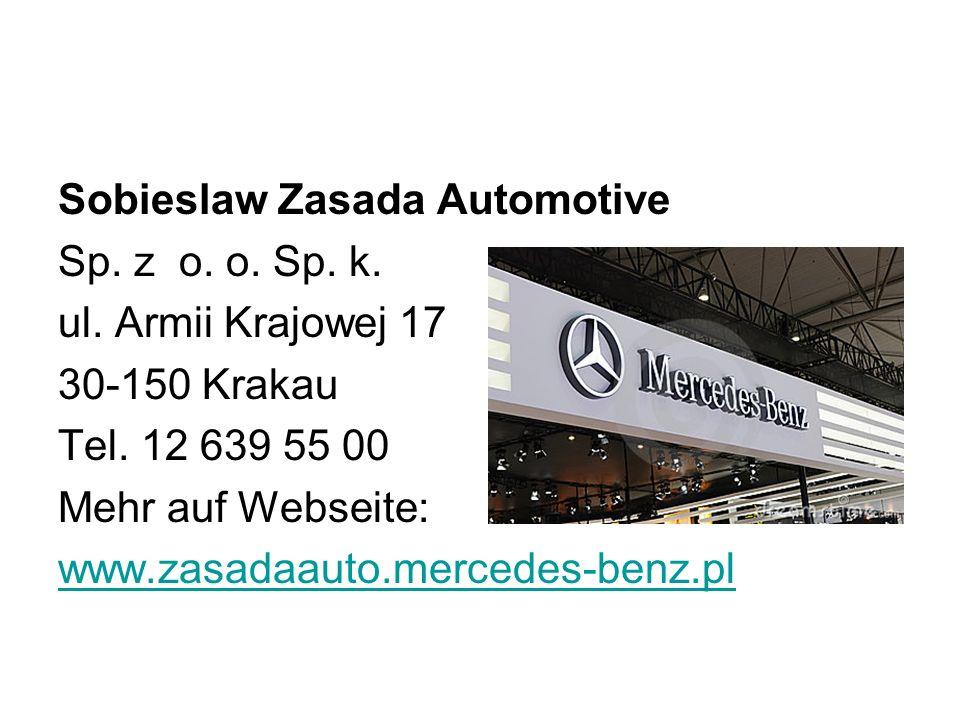 Sobieslaw Zasada Automotive Sp.z o. o. Sp. k. ul.