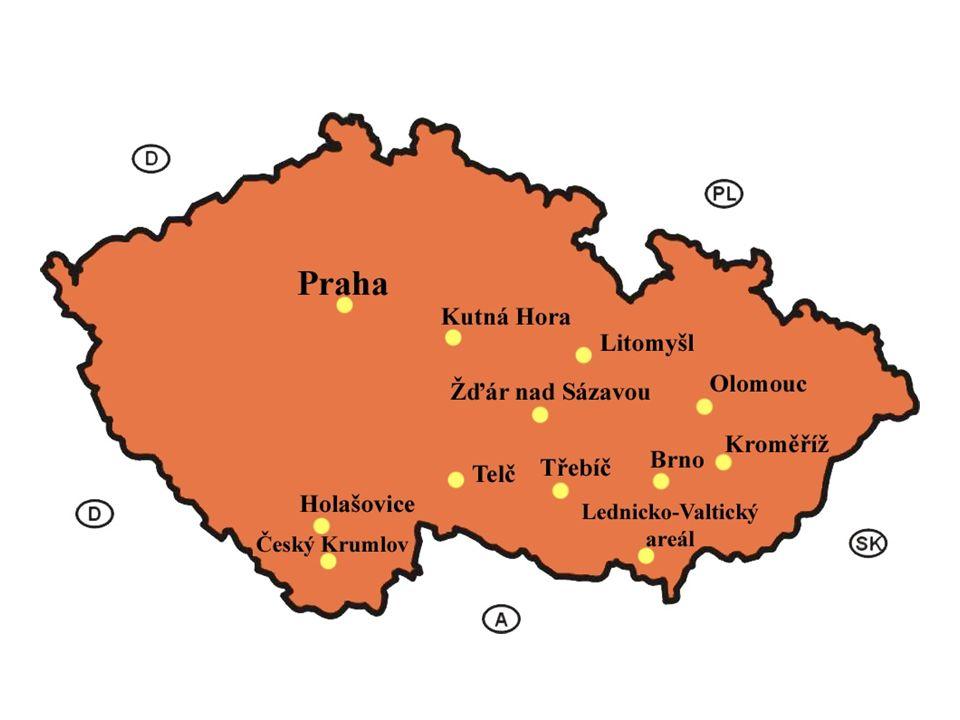 HISTORISCHER KERN PRAGS Der historische Kern von Prag wurde seit 1992 auf die Unesco-Liste eingetragen.