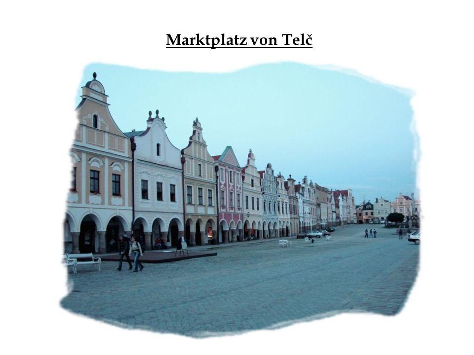 Marktplatz von Telč