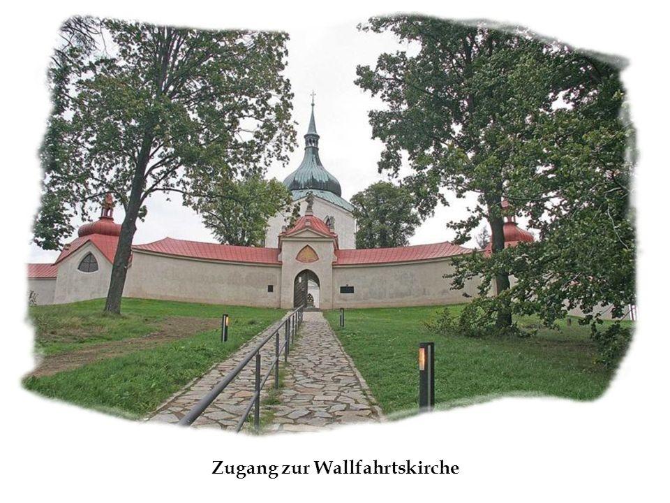 Zugang zur Wallfahrtskirche