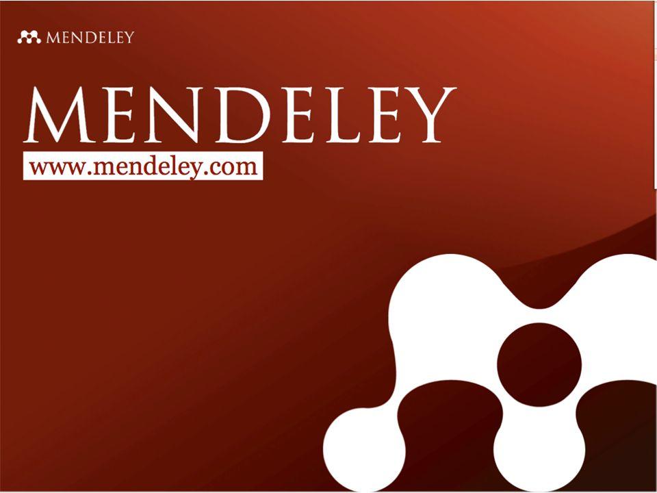 Research Catalog in Mendeley Erkennt Mendeley die Importquelle http://www.mendeley.com/import/ verweist es automatisch auf den Research Catalog.