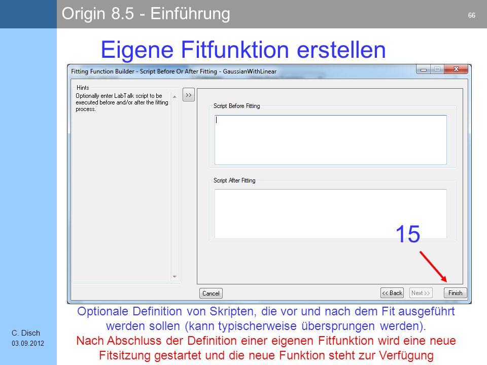 Origin 8.5 - Einführung 66 C.