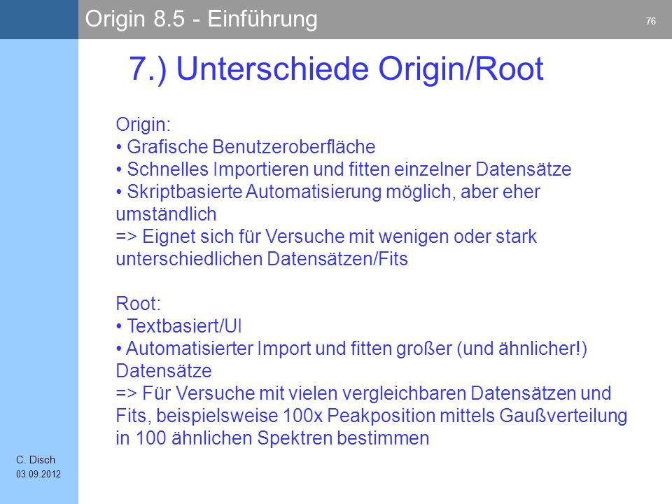Origin 8.5 - Einführung 76 C.