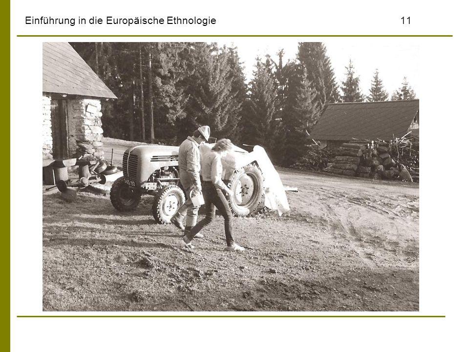 Einführung in die Europäische Ethnologie11