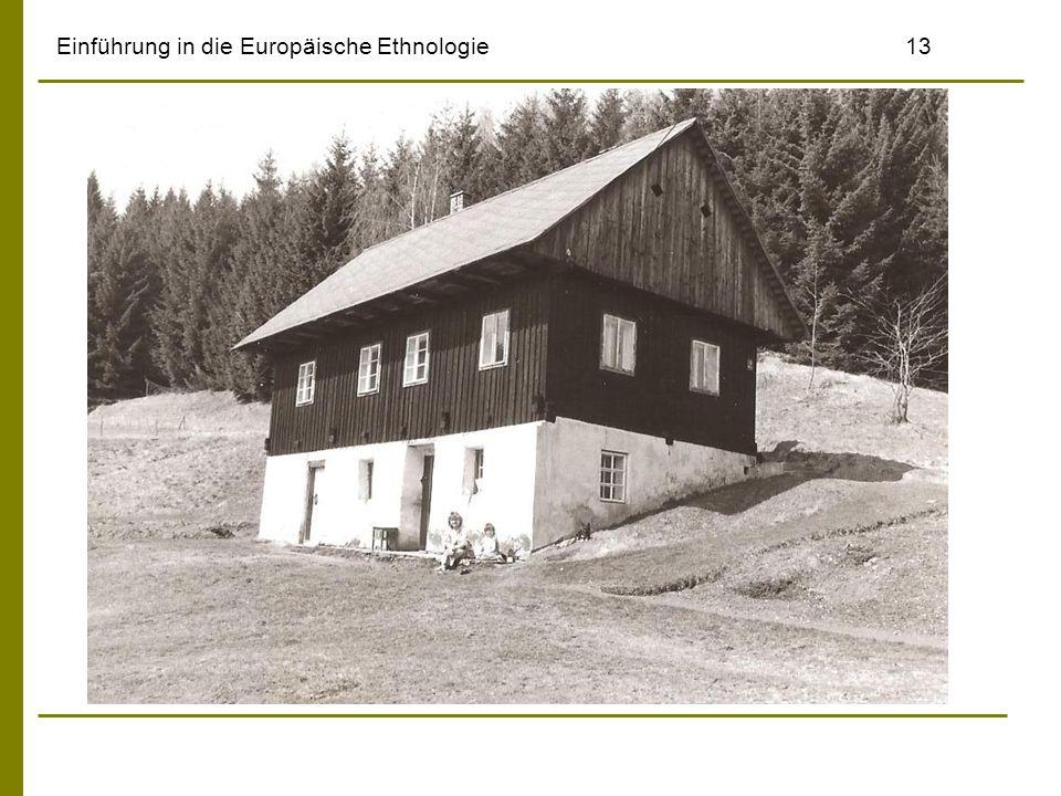 Einführung in die Europäische Ethnologie13