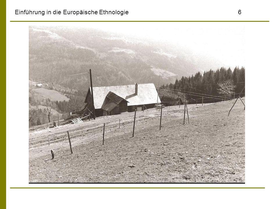 Einführung in die Europäische Ethnologie6