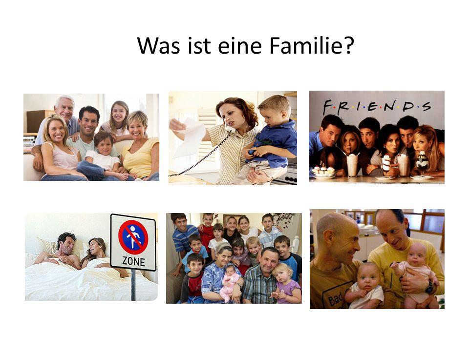 Was ist eine Familie?