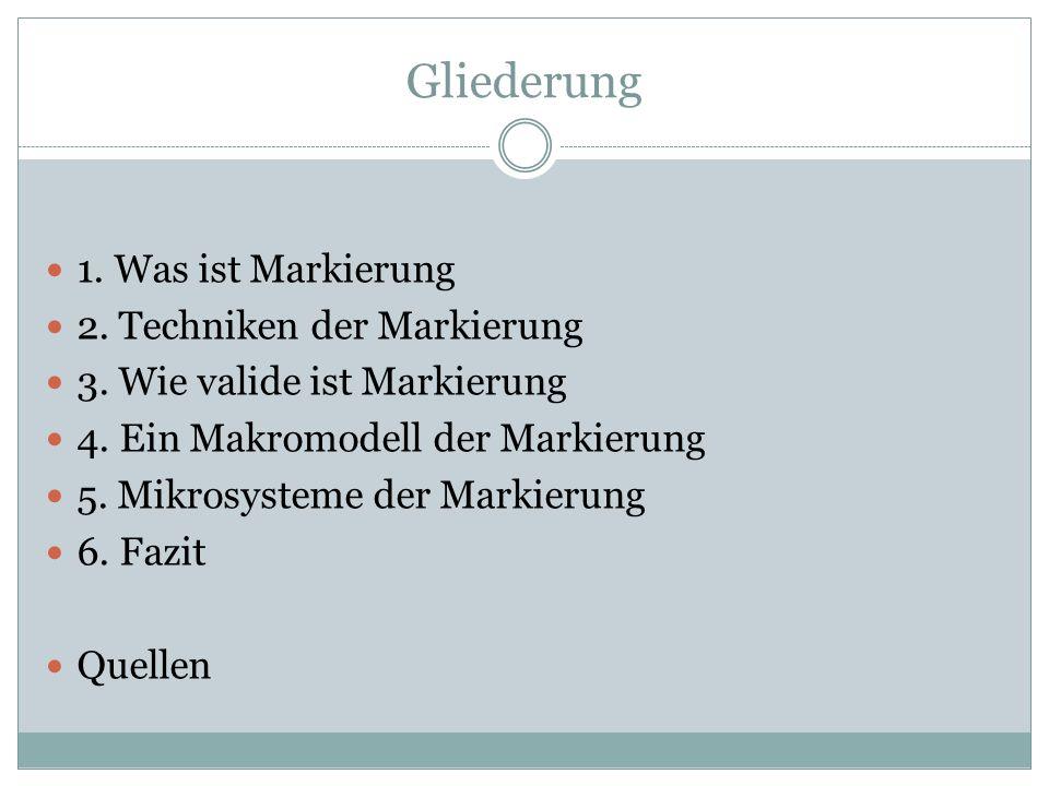 1.Was ist Markierung. Wörterbücher. Ein internationales Handbuch zur Lexikographie.