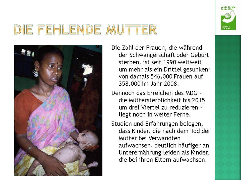 Die Zahl der Frauen, die während der Schwangerschaft oder Geburt sterben, ist seit 1990 weltweit um mehr als ein Drittel gesunken: von damals 546.000
