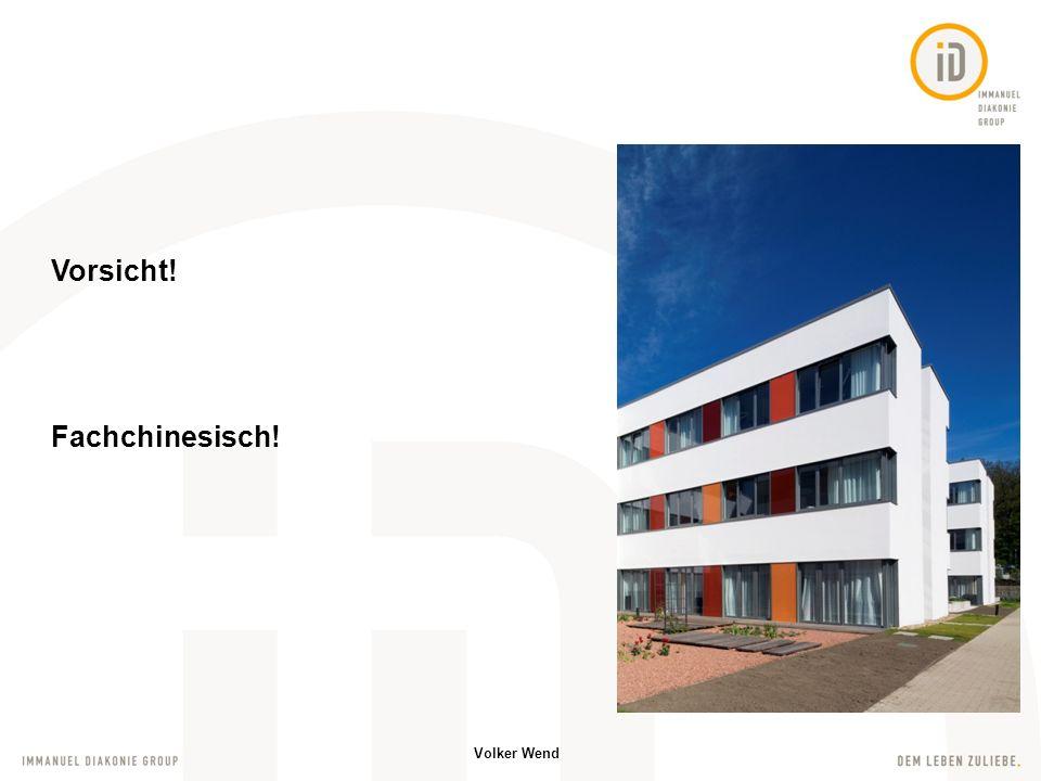 Volker Wend Echtdaten im Netz verfügbar Dokumentation aller Ereignisse Schnittstellen geplant CTG – Kreißsaal Überwachung