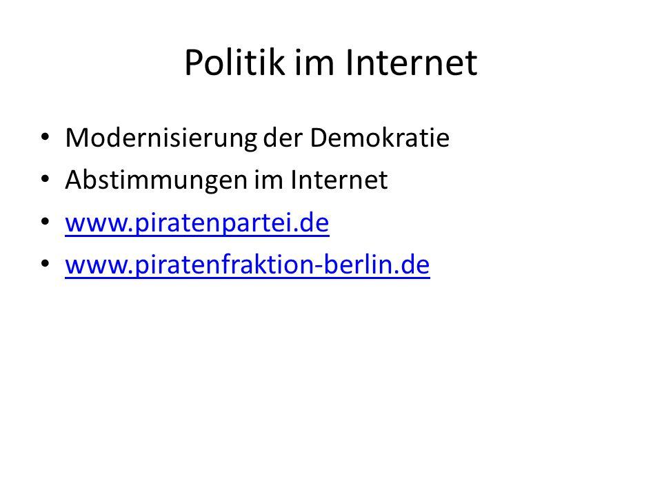 Mehr Demokratie Parteiprogramm: Mehr Demokratie wagen (Willy Brandt, 1969), z.B.