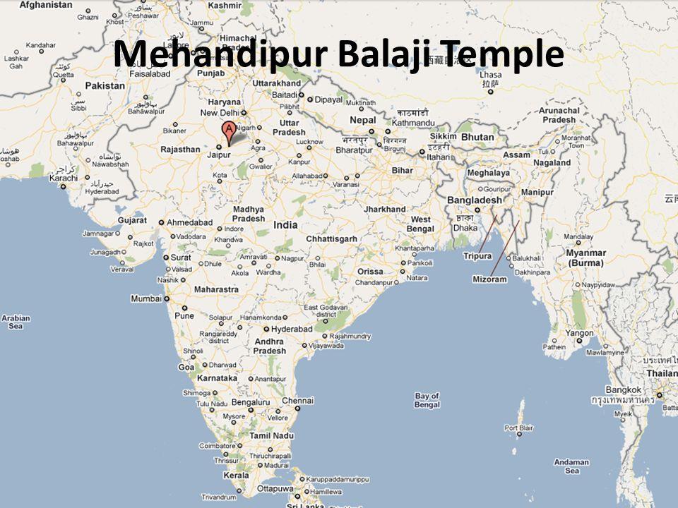 Legende Shri Balaji Affengott Hanuman => Balaji 2 Hauptassistenten: Pretraj : der Herr der Geister => Hilfsgeist Mahakal Bhairav: eine Inkarnation Siva => Bestrafung der Geister
