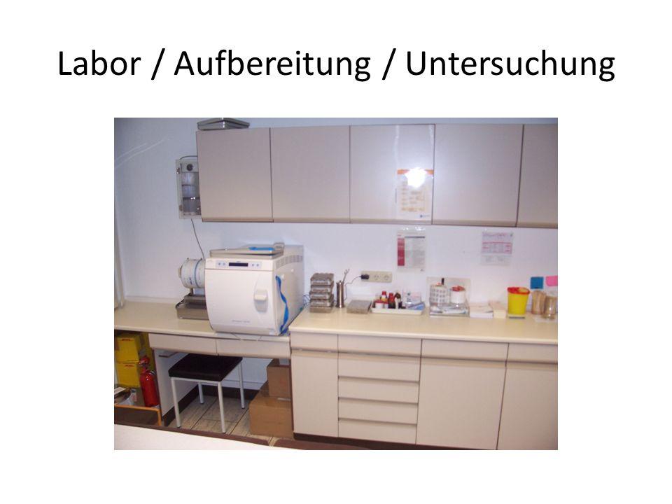 Labor / Aufbereitung / Untersuchung