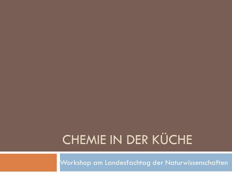 Chemie in der Küche – Mittelstufe Anisschnaps Erhitzen in der Mikrowelle Ammoniumchlorid in Salmiakpastillen