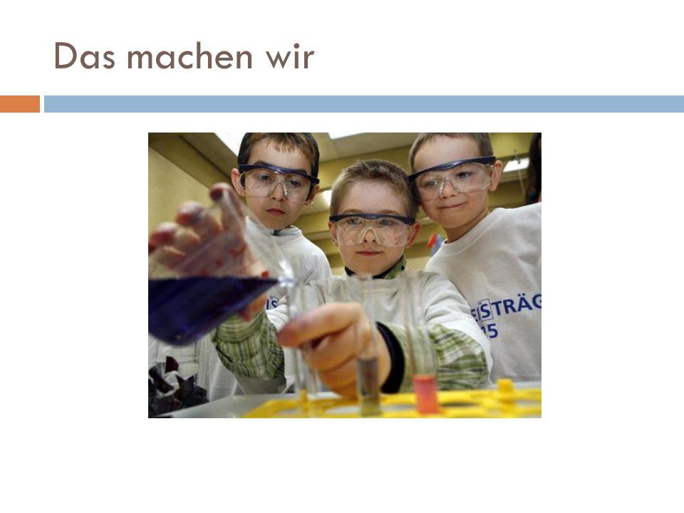 Ablauf Begrüßung Möglichkeiten für Chemie in der Küche Vorstellung der Experimente Vorerfahrungen rund um Chemie in der Küche Experimentieren I PAUSE Experimentieren II Präsentation