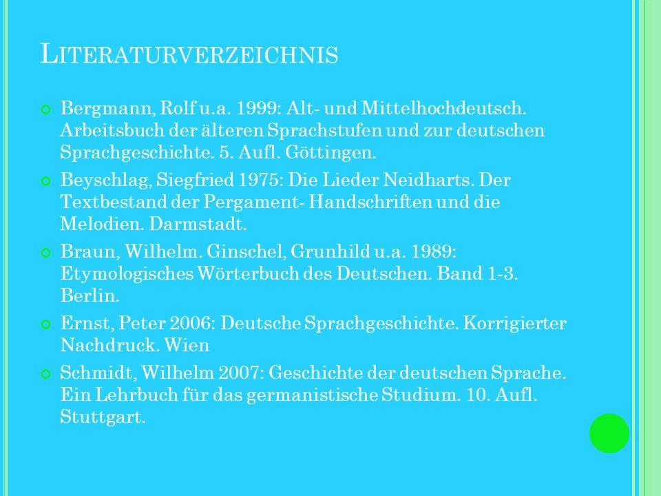 N EIDHART C ODEX PALATINUS GERMANICUS 848 Die Handschrift als codizes simulati (Fotografie des Originals). Bei dem Schrifttypen handelt es sich um got