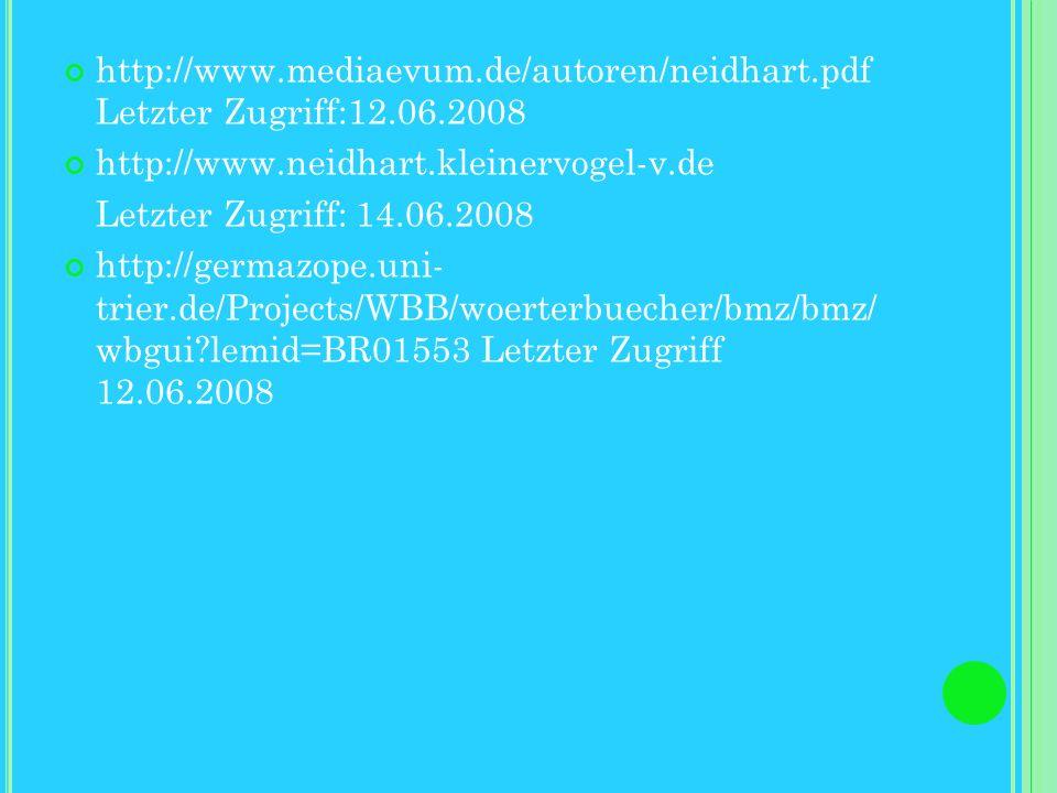 http://www-public.tu- bs.de:8080/~ilom/VeraenderungenVokalismusI.html Letzter Zugriff 12.06.2008 http://de.wikipedia.org/wiki/Monophthongierung Letzte