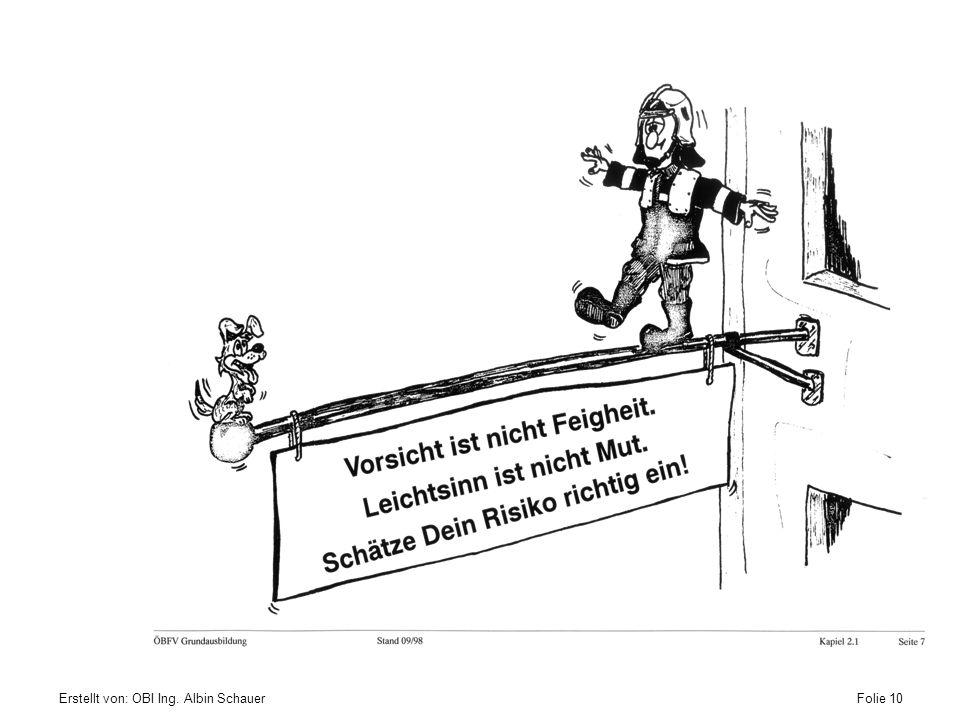 Erstellt von: OBI Ing. Albin SchauerFolie 10