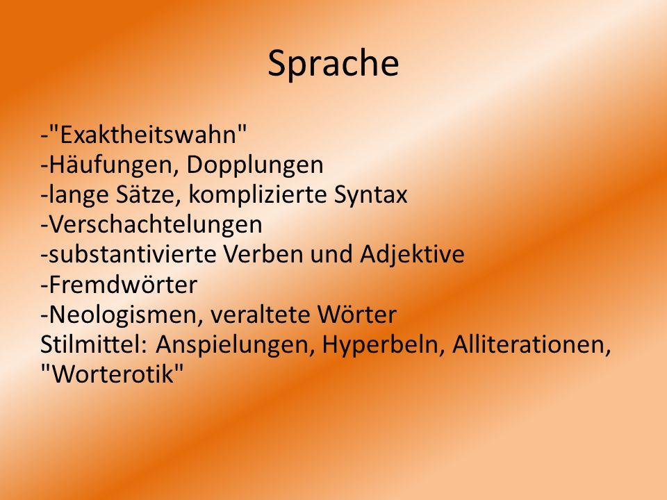Sprache -