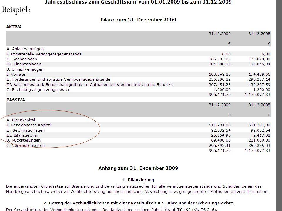 2. Kapitalgesellschaften (c) WP/StB Prof. Dr. Skopp u. StB K. Barth 26 Beispiel: