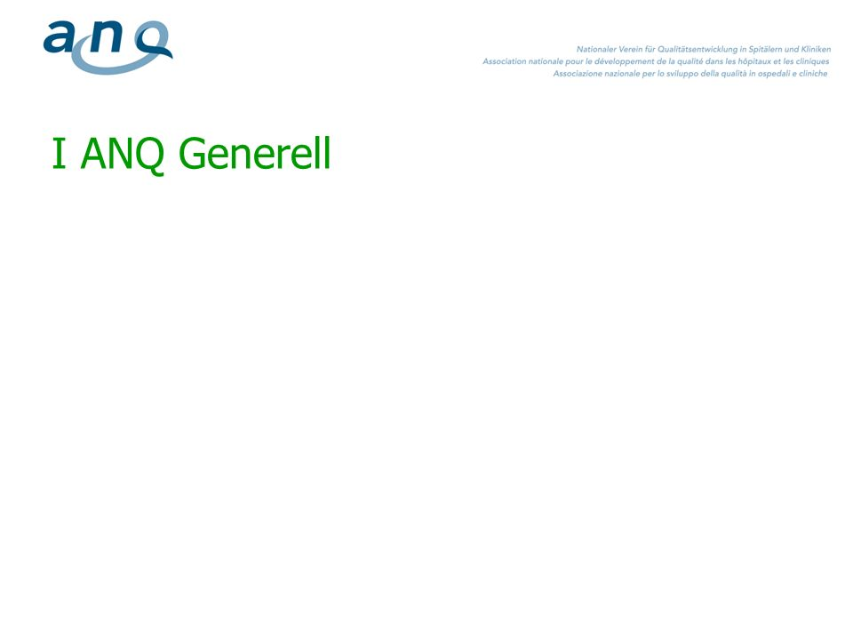 I ANQ Generell