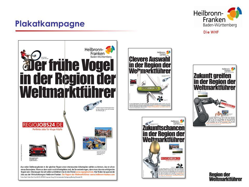 Aktivitäten Standortmarketing Die WHF ExpoReal Homepage www.heilbronn-franken.comwww.heilbronn-franken.com Newsletter Social Media Präsentationen in Berlin und Brüssel Präsentationen in Partnerregionen Strategietreffen der Weltmarktführer 2 x p.a.