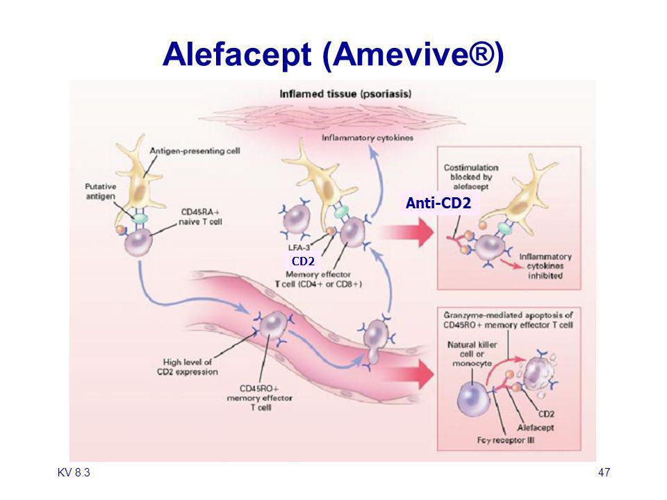 KV 8.347 Alefacept (Amevive®) CD2 Anti-CD2