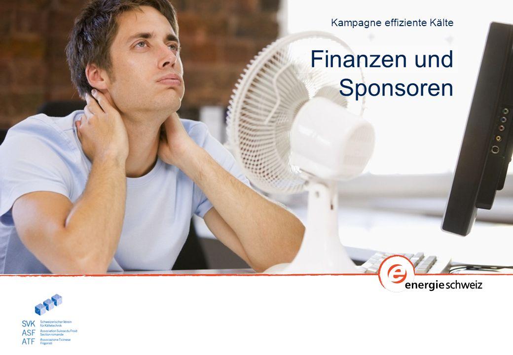 Kampagne effiziente Kälte Finanzen und Sponsoren