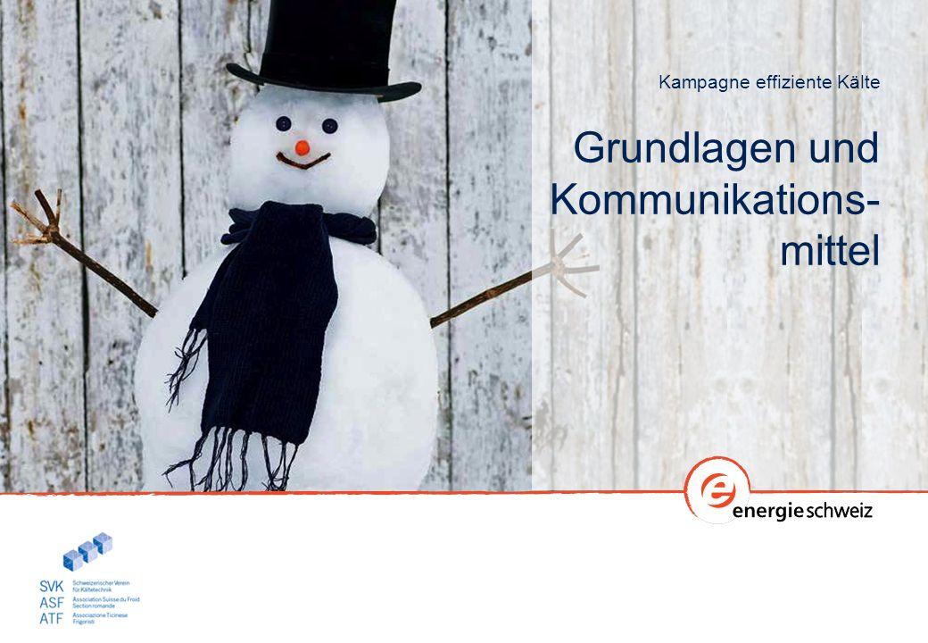 Kampagne effiziente Kälte Grundlagen und Kommunikations- mittel